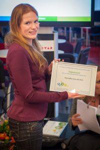 Marieke van de Wal winnares NVPO posterprijs 2016